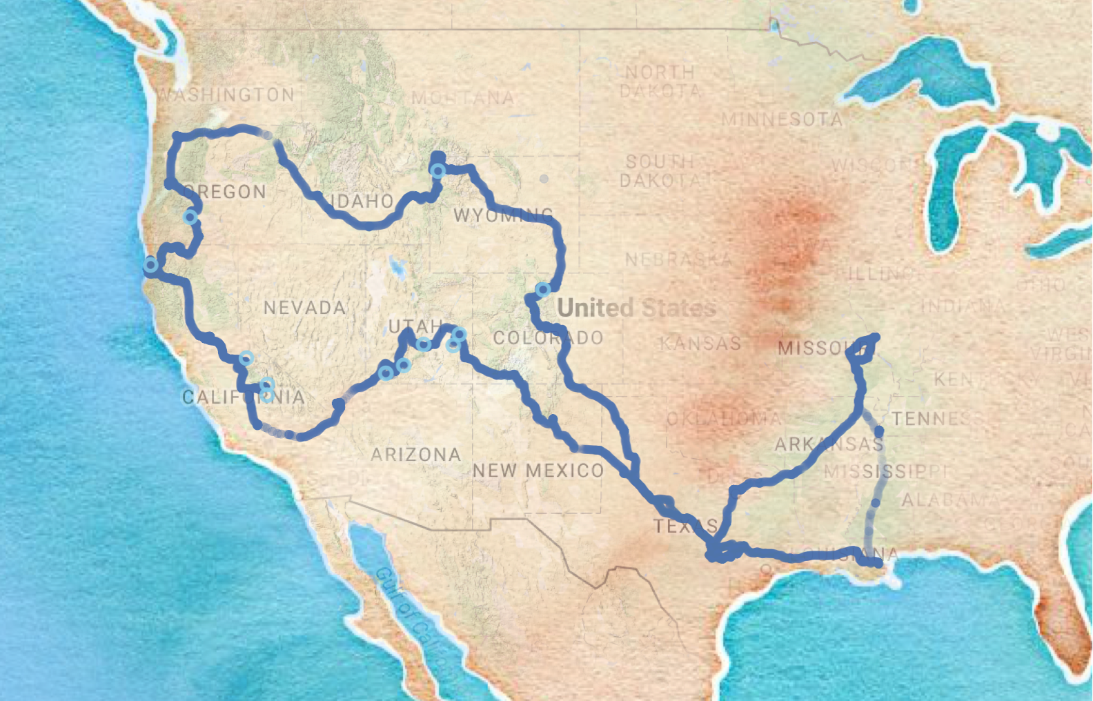 Cartography How To Create A US Map In R With Separation Between - Create us map