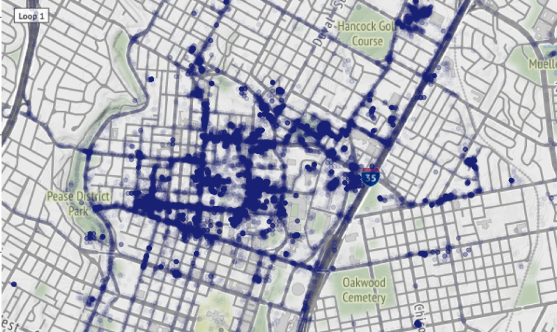 Using Google Timeline Data to Create Location Heatmaps